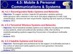 4 5 mobile personal communications systems1