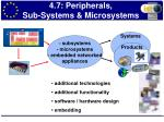 4 7 peripherals sub systems microsystems