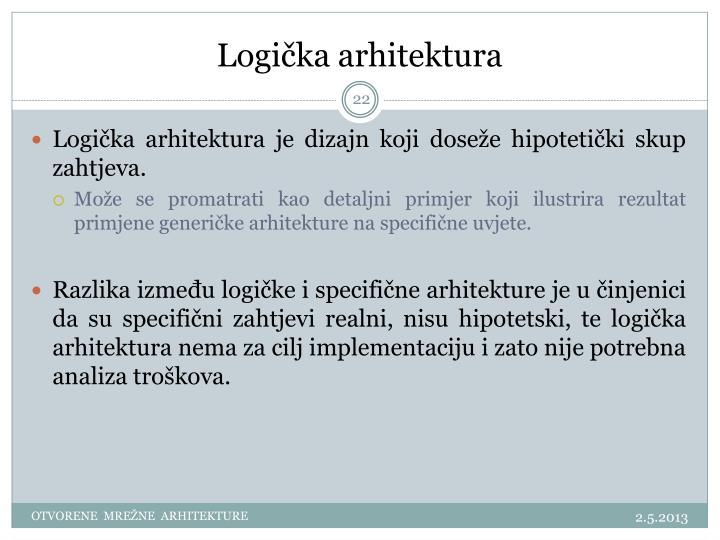 Logička arhitektura