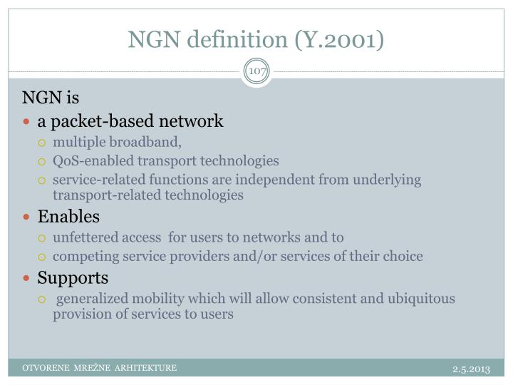 NGN definition (Y.2001)