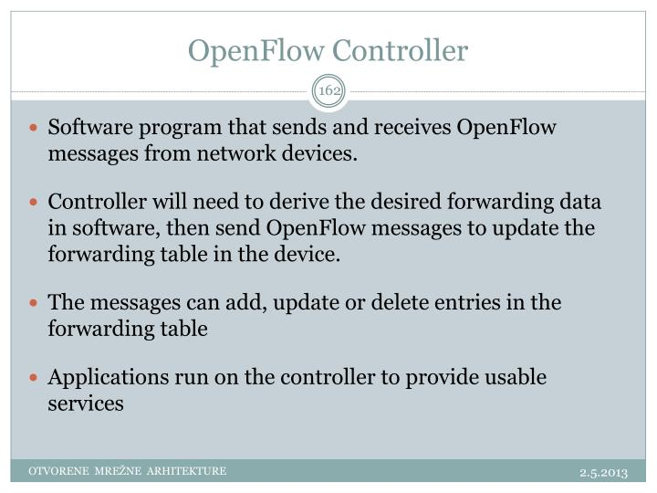 OpenFlow Controller