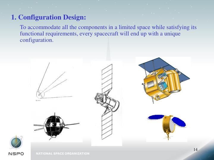 1. Configuration Design: