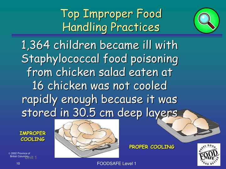 Top Improper Food