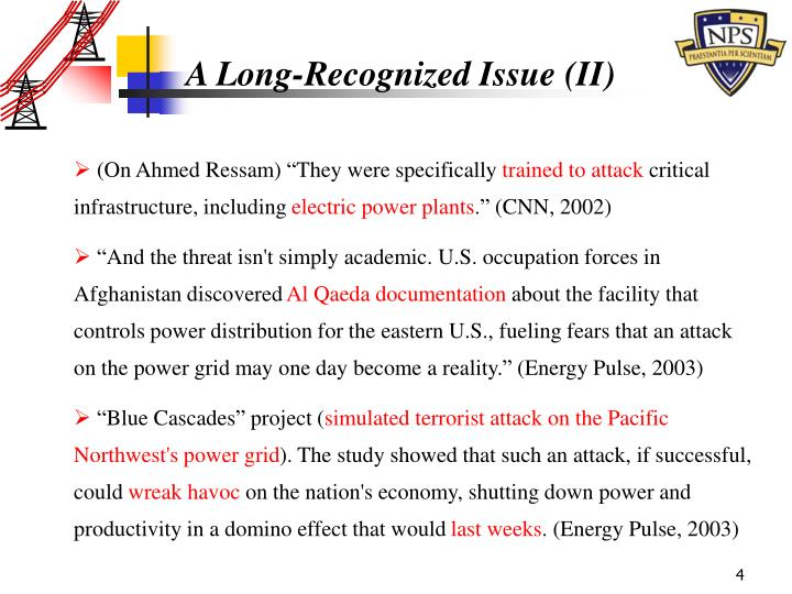 A Long-Recognized Issue (II)