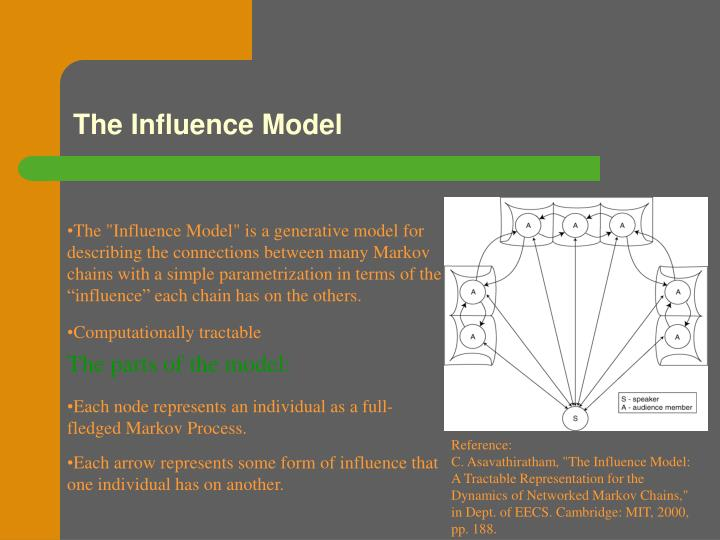The Influence Model