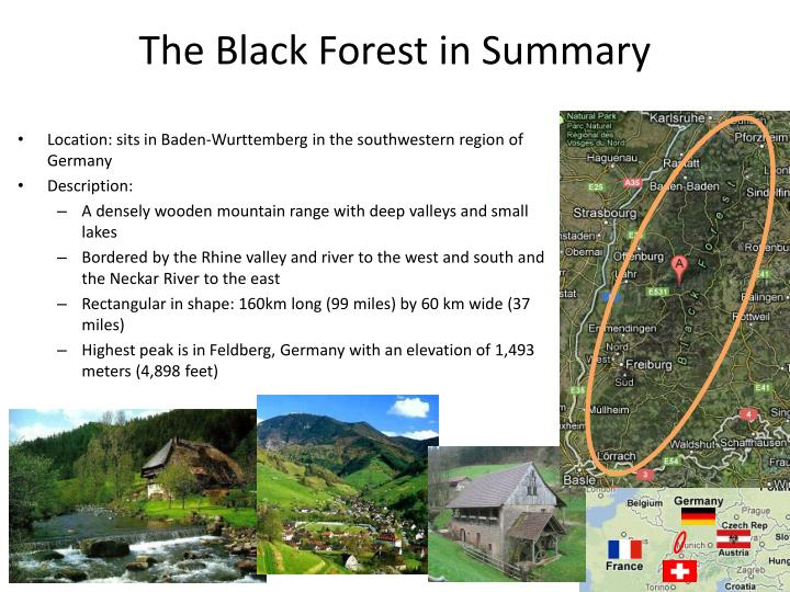 The Black Forest in Summary