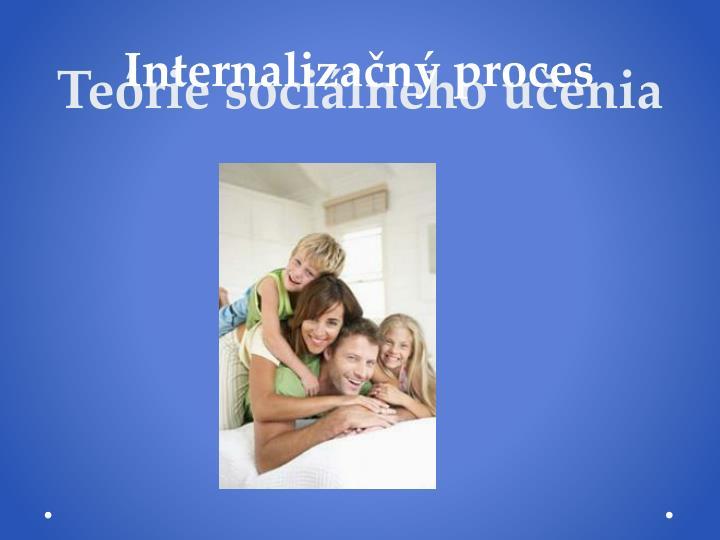 Teórie sociálneho učenia