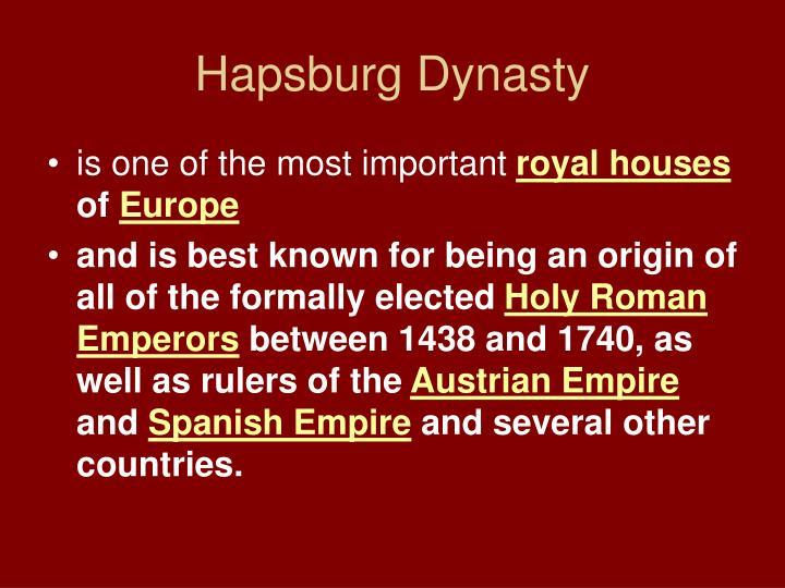 Hapsburg Dynasty