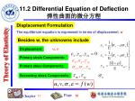 11 2 differential equation of deflection