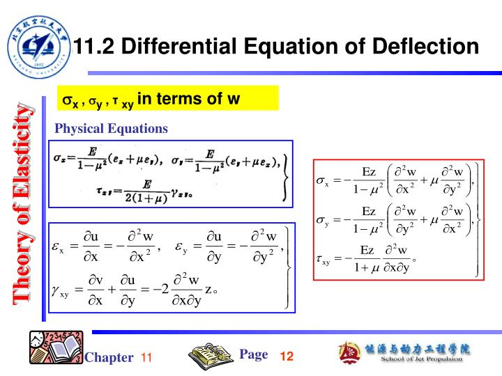 Physical Equations