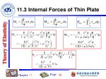 11 3 internal forces of thin plate3
