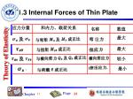 11 3 internal forces of thin plate5