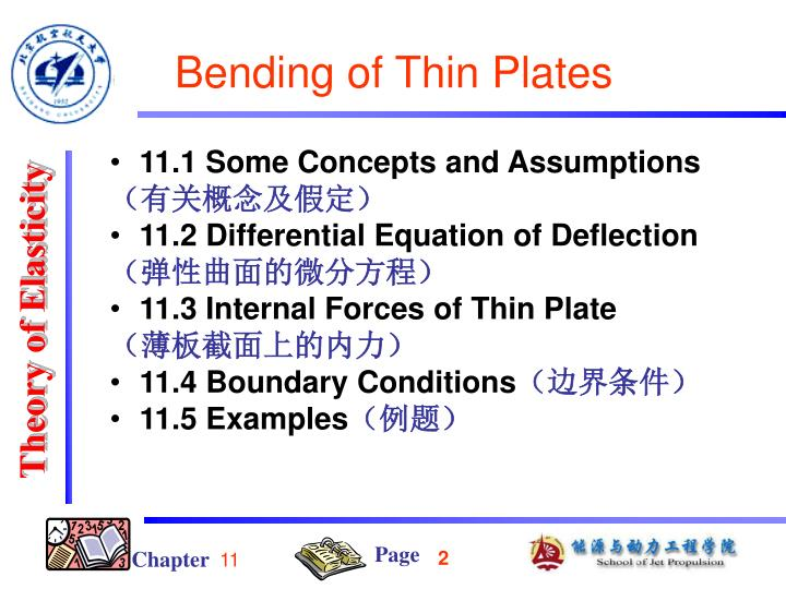 Bending of thin plates