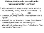 2 quantitative safety model for the transverse friction coefficient