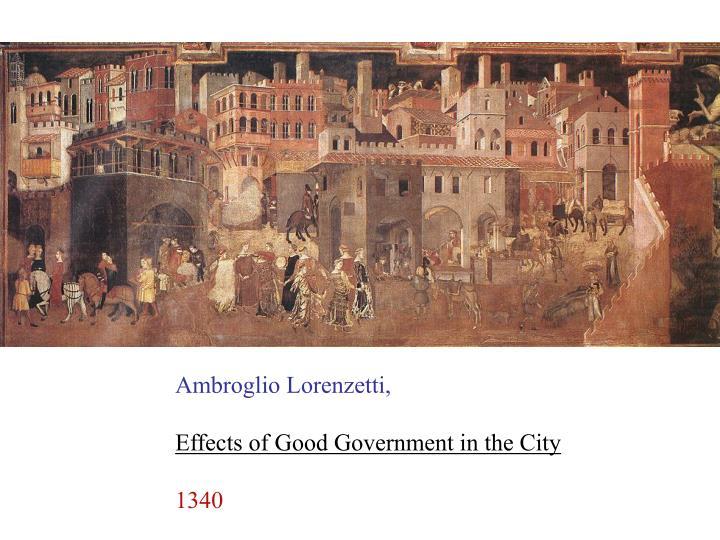 Ambroglio Lorenzetti,