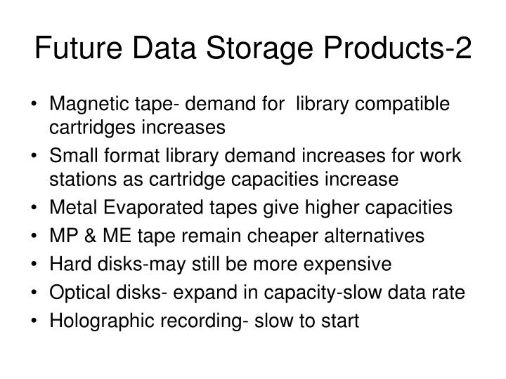Future Data Storage Products-2