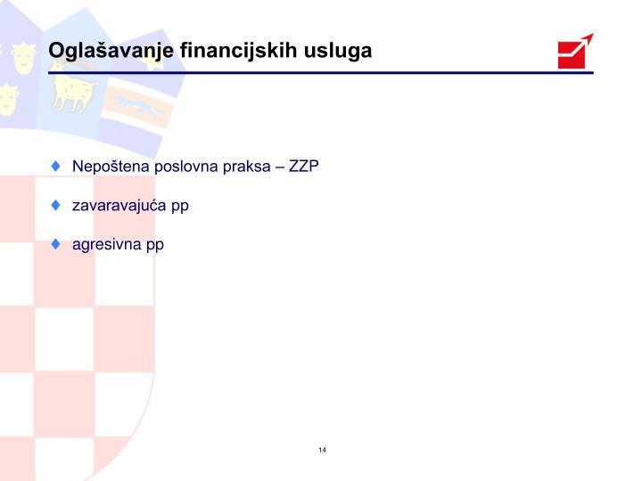 Oglašavanje financijskih usluga