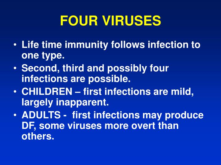 Four viruses