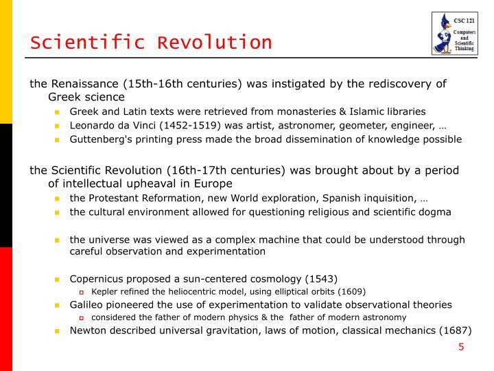 Scientific Revolution