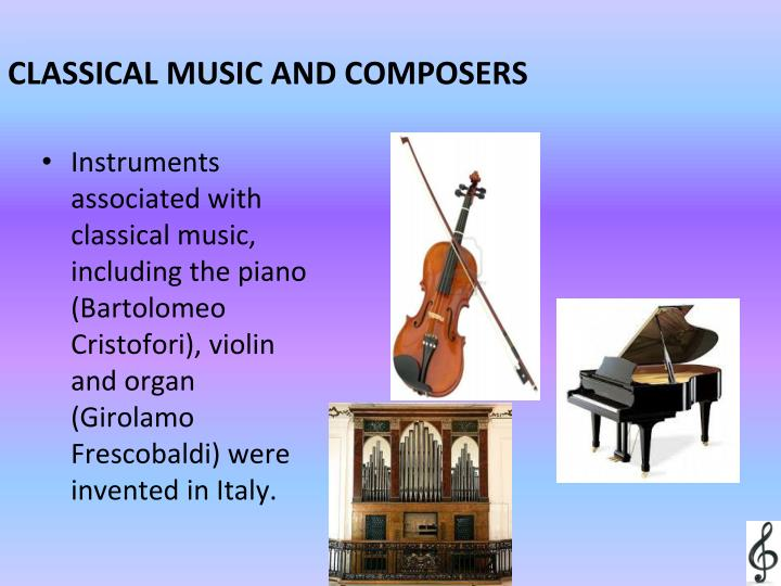 CLASSICAL MUSIC AND COMPOSERS