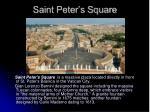 saint peter s square