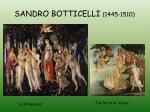 sandro botticelli 1445 1510