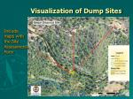 visualization of dump sites