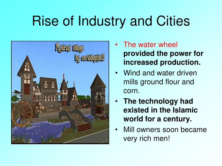 Rise of Industry and Cities