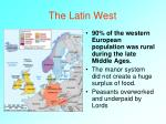the latin west1