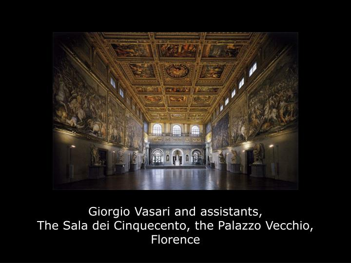 Giorgio Vasari and assistants,