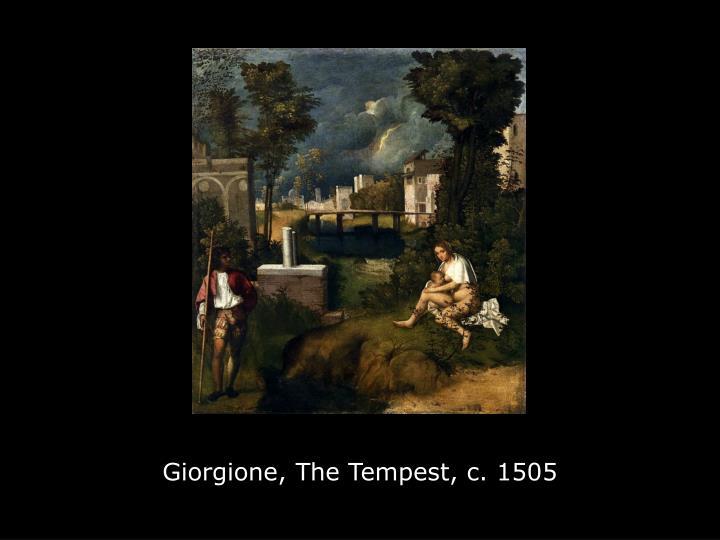 Giorgione, The Tempest, c. 1505