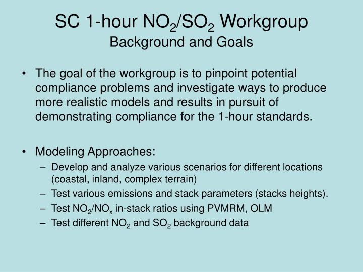Sc 1 hour no 2 so 2 workgroup