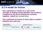 6 2 a model for friction1