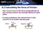 6 2 calculating the force of friction