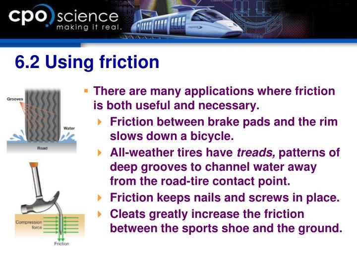 6.2 Using friction