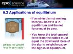 6 3 applications of equilibrium