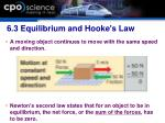 6 3 equilibrium and hooke s law1