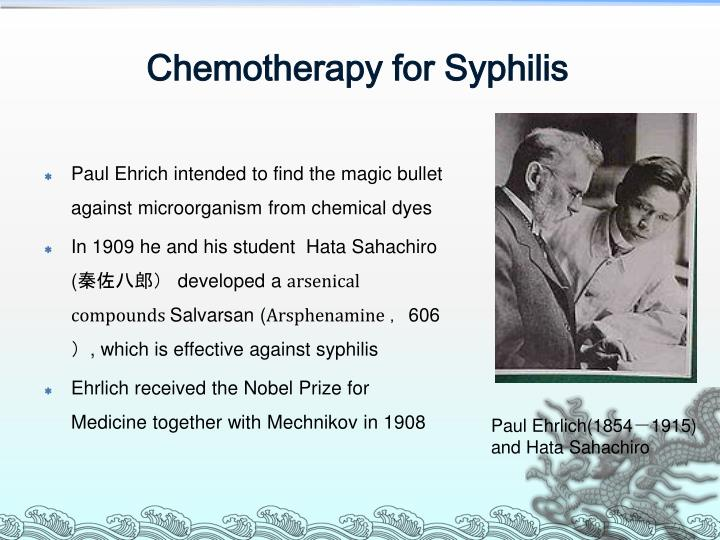 Chemotherapy for Syphilis