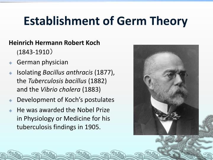 Establishment of Germ Theory