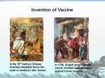 invention of vaccine