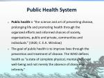 public health system2
