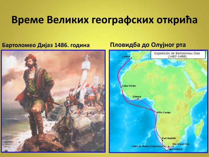 Време Великих географских открића