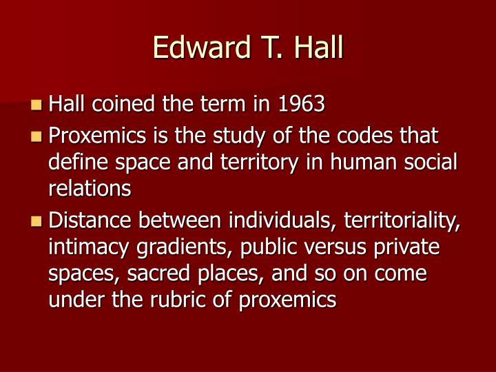 Edward T. Hall