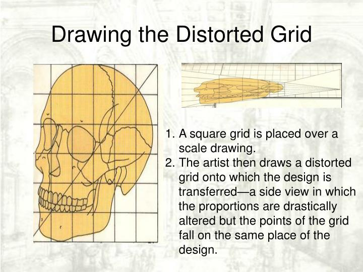 Drawing the Distorted Grid