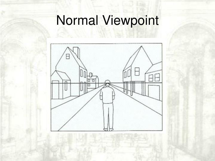 Normal Viewpoint