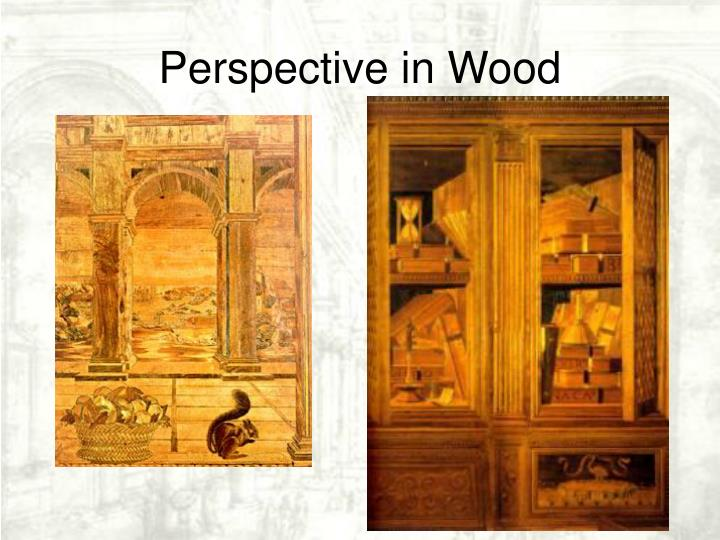 Perspective in Wood