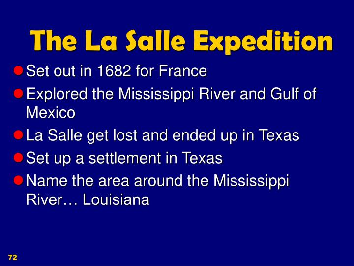 The La Salle Expedition