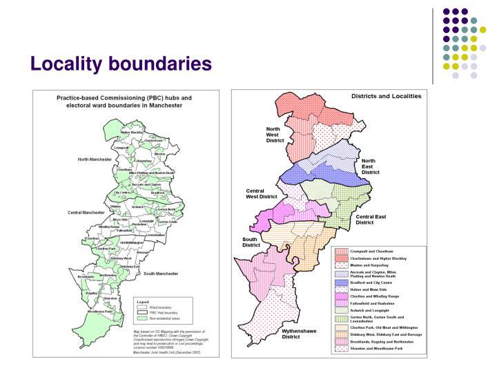 Locality boundaries