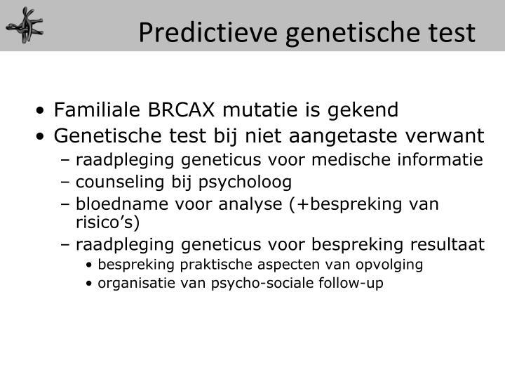 Predictieve
