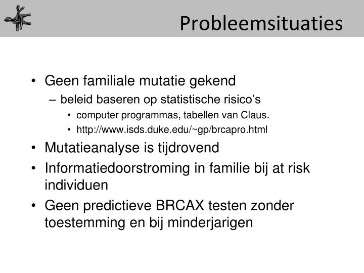 Probleemsituaties